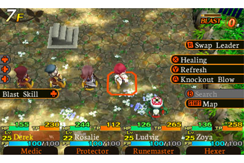 Etrian Mystery Dungeon trailer introduces Medic class ...