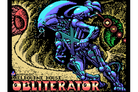 Obliterator (1989) by Melbourne House / Dro Soft MSX game