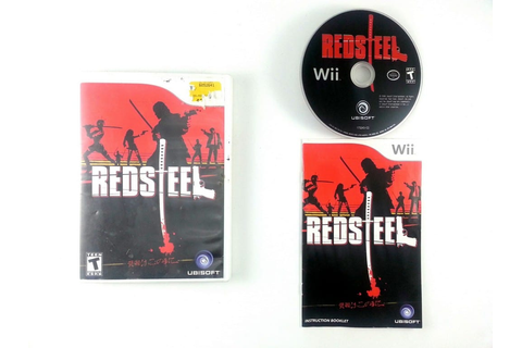 Red Steel game for Wii (Complete) | The Game Guy