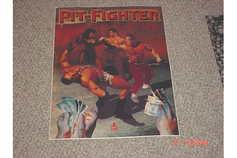 Pit-Fighter - Videogame by Atari Games