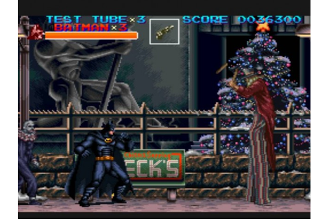 Retro Gazette Reviews:Batman Returns SNES Review
