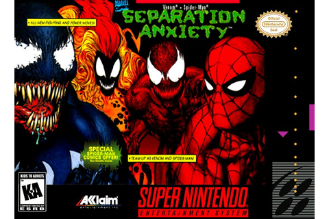 Spider-Man and Venom : Separation Anxiety - Jeux - RomStation
