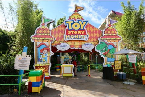 Toy Story Mania - Disney's Hollywood Studios