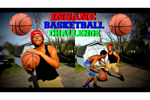 INSANE BASKETBALL CHALLENGE!! IRL 1V1 BASKETBALLL GAME ...
