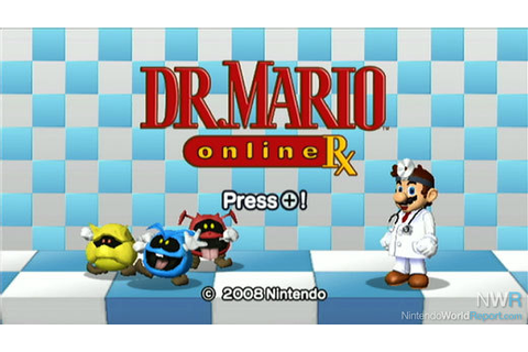 Dr. Mario Online RX Now Available as a Club Nintendo ...