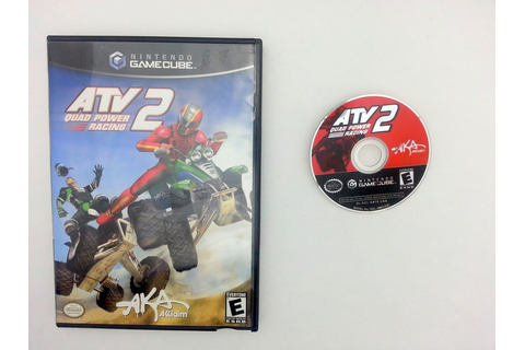 ATV Quad Power Racing 2 game for Nintendo Gamecube -Game ...