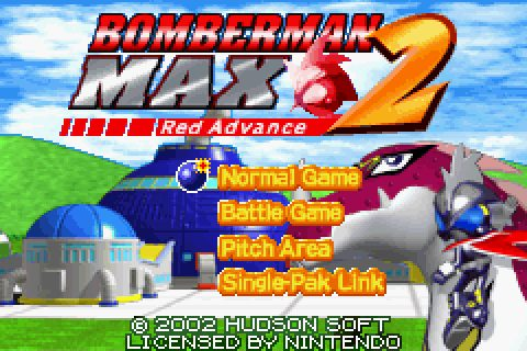 Bomberman Max 2: Red Advance (2002) by Hudson GBA game