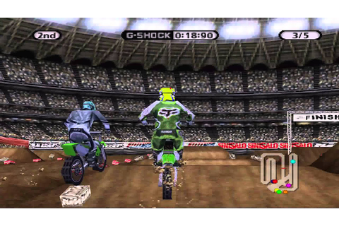 Supercross Circuit - Playstation - 125 West Supercross ...