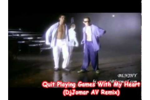 Quit Playing Games With My Heart - BackStreet Boys (AV ...