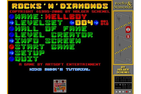Rocks'n'Diamonds Games Emerald Mine Games Upto