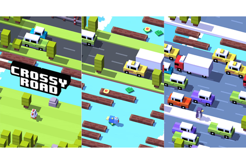Crossy Road Makes Its Way to Google Play!