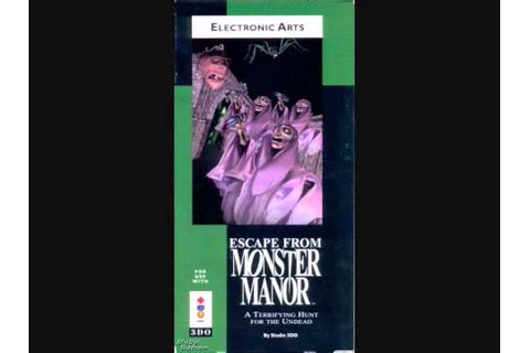 Escape from Monster Manor 3DO music - YouTube