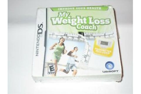 NINTENDO DS MY WEIGHT LOSS COACH VIDEO GAME BRAND NEW ...
