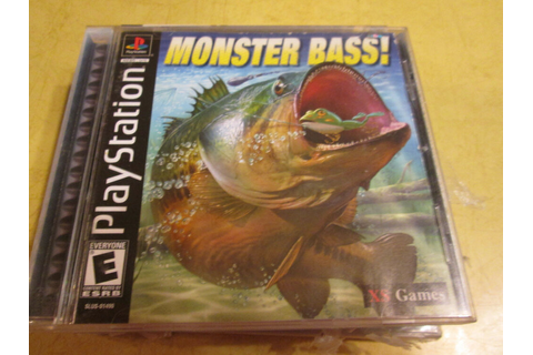 NEW PLAYSTATION GAME MONSTER BASS read description before ...