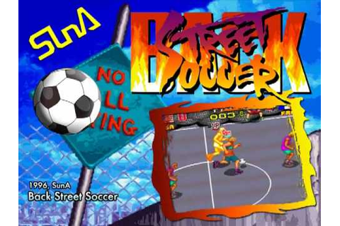 Hyperspin Theme for Back Street Soccer - YouTube