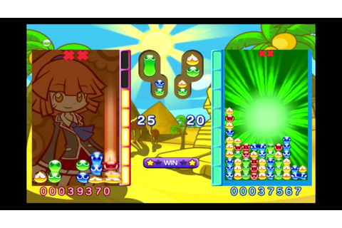 Puyo Puyo 7 Arle vs Schezo - YouTube