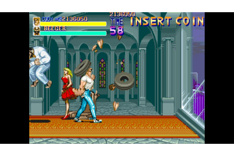 Final Fight 1 arcade gameplay playthrough longplay - YouTube