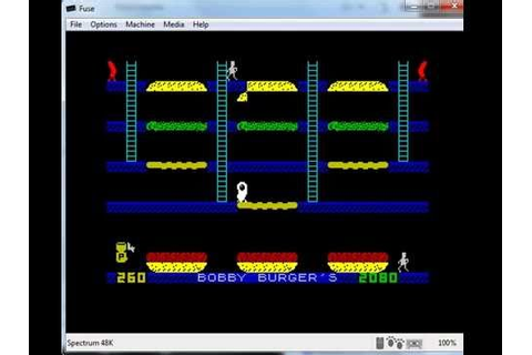 Barmy Burgers & Bobby Burgers - Sinclair ZX Spectrum ...