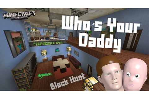 Minecraft block hunt - Whos your daddy ♾ Xbox one gameplay ...