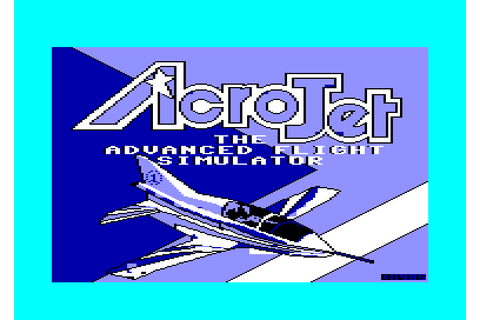 Acro Jet The Advanced Flight Simulator by Microprose ...