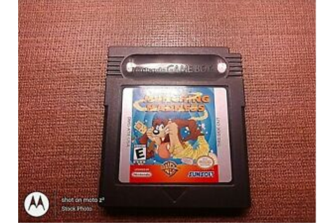 Nintendo Game Boy Game Only Tested Taz The Tasmanian Devil ...
