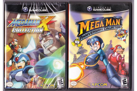 Nintendo Gamecube game: Mega Man X Collection + Mega Man ...