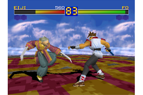 Play Battle Arena Toshinden Sony PlayStation online | Play ...