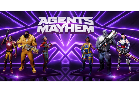 Agents of Mayhem - Game Retina