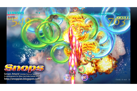 Snops Attack! Zombie Defense on Qwant Games