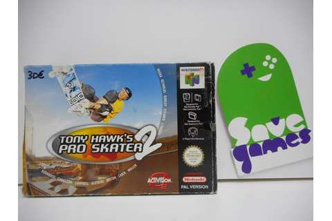 Tony Hawk's Pro Skater 2 - Save Games