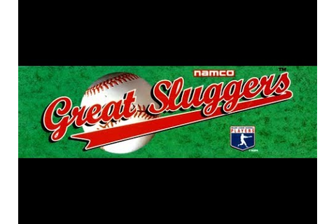 Great Sluggers '94 (Arcade) - YouTube