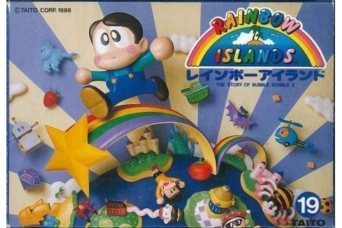 Rainbow Islands - The Story Of Bubble Bobble 2 ROM ...