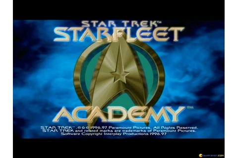 Star Trek: Starfleet Academy gameplay (PC Game, 1997 ...