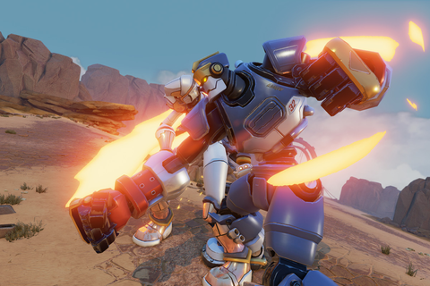 Rising Thunder is a new fighting game from Seth Killian ...