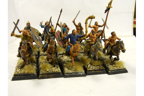 Miniature Wargames Junkie: 28mm Warlord Games Celtic ...