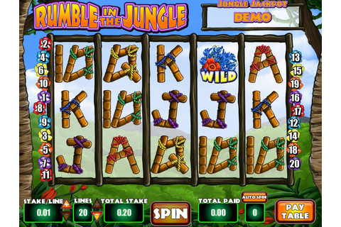 Rumble in the Jungle ™ Slot Machine - Play Free Online ...
