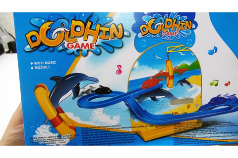 Dolphin Game, Battery Operated Toy, Toy Review - Unboxing ...