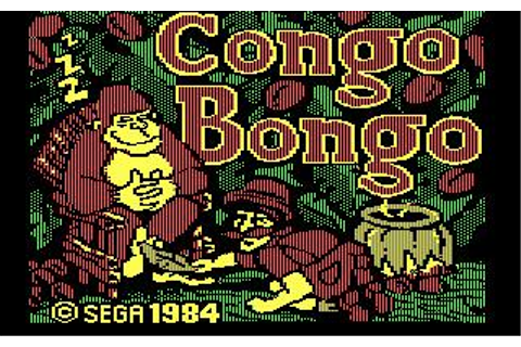 Congo Bongo Download (1984 Arcade action Game)