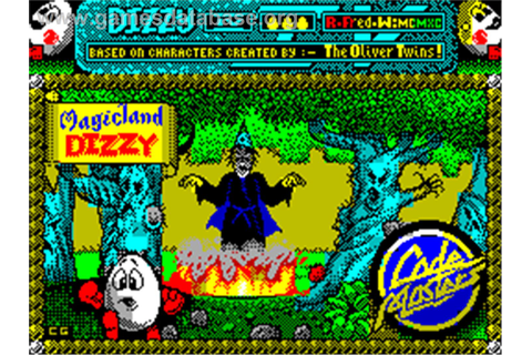 Magicland Dizzy - Sinclair ZX Spectrum - Games Database