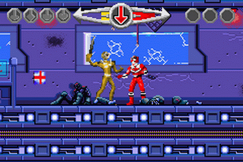 Play Power Rangers - Time Force Nintendo Game Boy Advance ...