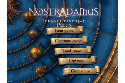 Free Games Nostradamus The Last Prophecy Episode 3