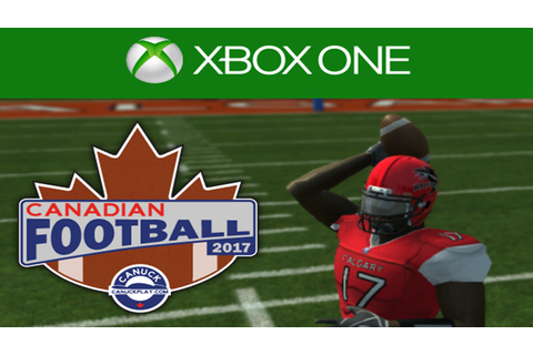 There is a new Canadian Football video game for Xbox One ...