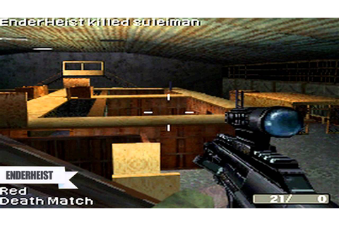 Call of Duty Modern Warfare Mobilized DS WIFI | Killhouse ...
