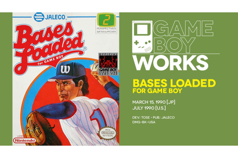 Bases Loaded for Game Boy retrospective: Not quite ...