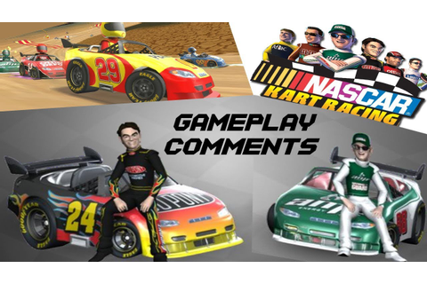 NASCAR Kart Racing - Gameplay & Comments WII HD - YouTube