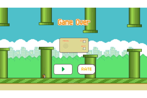 5 HD Flappy Bird Game Wallpapers - HDWallSource.com