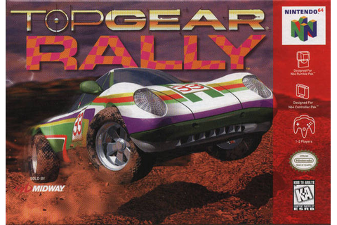 Top Gear Rally - N64 - Nerd Bacon News