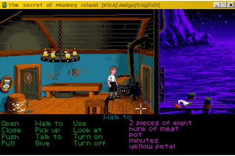 The Secret of Monkey Island (Amiga) Game