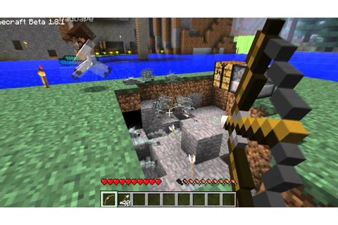 MineCraft: Let's Kill Silverfish - YouTube