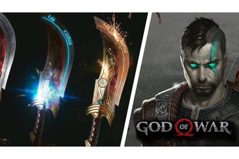 GOD OF WAR 5: HERITAGE - REVEALS ADULT ATREUS, BLADES OF ...